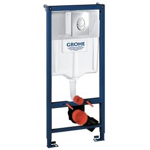 Инсталяционная система Grohe RAPID SL для подвесного унитаза, 38721001