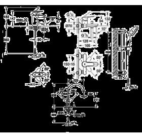 Набор смесителей GROHE BauEdge 123218K + кухонный смеситель (23330000 + 32820000 + 27598000 + 313670