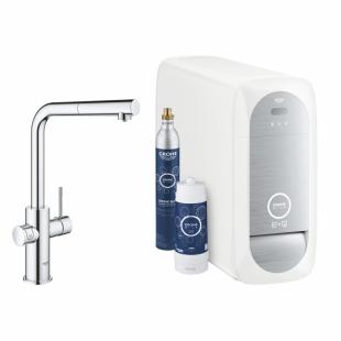 Смеситель кухонный Grohe GROHE Blue Home, 31539000 с функцией очистки водопроводной воды