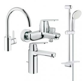 Набор смесителей для ванны и кухни GROHE Eurosmart Cosmopolitan, 126115MK