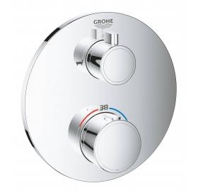 Термостат Grohe Grohtherm 24077000 с переключателем на 2 положения ванна/душ