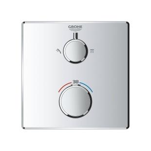 Grohe Grohtherm Термостат для душа с переключателем на 2 положения верхний/ручной душ, 24079000