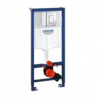 Инсталляция Grohe RAPID SL с подвесным унитазом ROCA Gap A34H47C000/A34647L000 с сиденьем Soft-Close