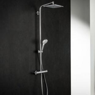 Душевая система Hansgrohe Crometta E 240 1jet Showerpipe с термостатом 27271000