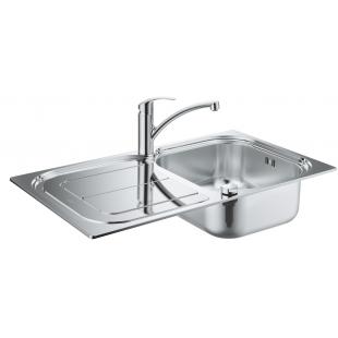 Кухонная мойка GroheEXSink K300+смесительEurosmart(31565SD0)