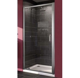 Душевая дверь Huppe X1, хром, прозрачная, 140703.069.321