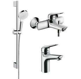 Набор смесителей для ванны Hansgrohe Novus, 71041111