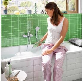 Смеситель для ванны Hansgrohe Novus однорычажный, 71040000