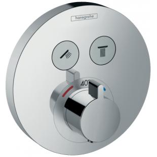 Внешняя часть смесителя на 2 потребителя Hansgrohe ShowerSelect S, 15743000