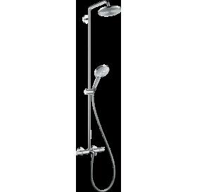 Набор для комплектации душа HANSGROHE Raindance Select S 240 Showerpipe для ванны с термостатом, хро