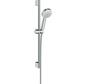 Душевой набор Hansgrohe Crometta 100 Vario  0,65м цв. белый хром  26651400