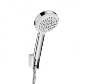 Ручной душ Hansgrohe Crometta 100 Vario Porter +держатель+шланг цв белый 26667400