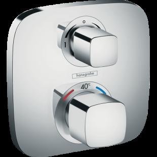 Смеситель-термостат Hansgrohe Ecostat  E  с запорным/ переключающим вентилем 15708000