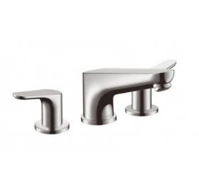 Смеситель для ванны двухвентильный на 3 отверстия Hansgrohe Focus 31935000