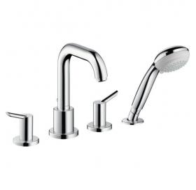 Смеситель для ванны двухвентильный на 4 отверстия Focus S 31758000