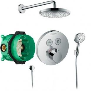 Душевая система hansgrohe Raindance Select S с термостатом ShowerSelect S 27297000