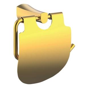 Держатель для туалетной бумаги Imprese Cuthna, золото, 140280 zlato