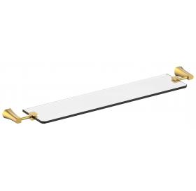 Полочка стеклянная Imprese Cuthna, золото, 160280 zlato