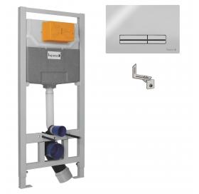 Комплект инсталляции Imprese 3в1 (клавиша PANI хром) i9120