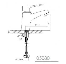 Комплект смесителей для душа Imprese Witow, 0515080670