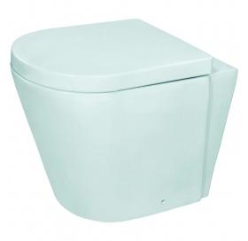 Напольный унитаз Jaquar Opal, с сиденьем полипропилен, OPS-WHT-15955