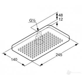 Верхний душ KLUDI A-QA (4940205-00)