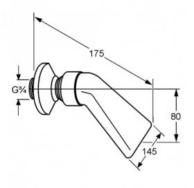Каскадный душ KLUDI A-QA (6051105-00)