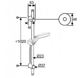 Душевой гарнитур KLUDI A-QA (6209605-00)