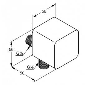 Шланговое соединение KLUDI A-QA (6554043-00)