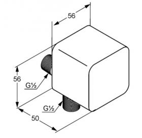 Шланговое соединение KLUDI A-QA (6554343-00)