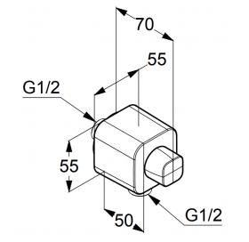 Шланговое соединение KLUDI A-QA (6554405-00)