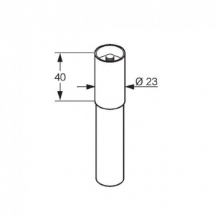 Удлиннительная труба KLUDI A-QA (7042005-00)