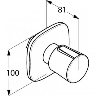 Вентиль KLUDI AMBIENTA (538150575)