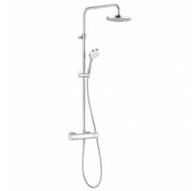 Душевая система Kludi Logo Dual Shower System 1S с термостатом 6809505-00