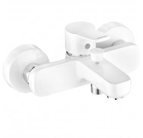 Смеситель для ванны Kludi PURE&EASY (376819165) белый