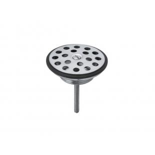 Универсальный сливной вентиль для умывальника Kludi сталь, никель-хром  1041535-00