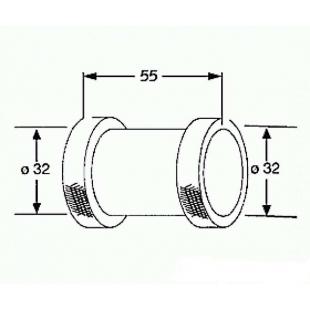 Соединение для труб KLUDI 1043205-00