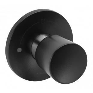 Вентиль KLUDI BALANCE (528478775) на 2 положения черный матовый