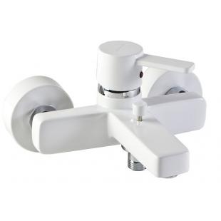Смеситель для ванны Kludi Zenta белый/хром 386709175