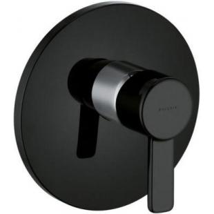 Внешняя часть смесителя для душа Kludi Zenta 386558675  черный/хром