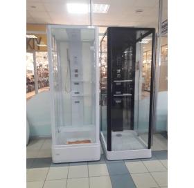 Гидробокс MIRACLE 80x100, профиль белый, NA114-3