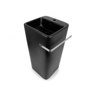 Напольный умывальник Newarc Aqua 9412B-M чёрный матовый