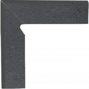 Цоколь Paradyz Semir левый grafit 8,1x30 PRZ03314