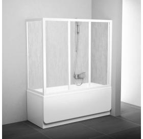 Боковая стенка для ванной Ravak SUPERNOVA APSV-75 Grape, профиль сатин, стекло, 95030U02ZG
