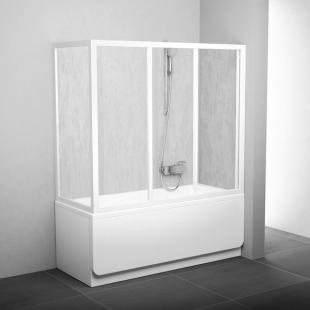 Боковая стенка для ванной Ravak SUPERNOVA APSV-70 Grape, белый профиль, стекло, 95010102ZG