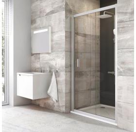 Душевые двери Ravak BLIX BLDP 2 - 120 R-L белый + transparent 0PVG0100Z1