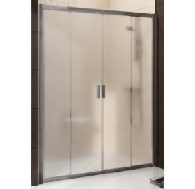 Душевые двери Ravak BLIX BLDP 4 - 140 Transparent, полированный алюминий, безопасное стекло, 0YVM0C0