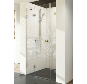 Душевые двери Ravak BRILLIANT BSD 3 - 110 A-L Transparent, хром, безопасное стекло, 0ULD0A00Z1
