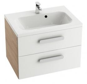 Шкафчик под умывальник SD Chrome II капучино/белый, X000000921