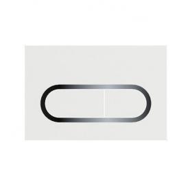 Кнопка смыва для инсталляции Ravak CHROME, 3/6 л, белая, X01455